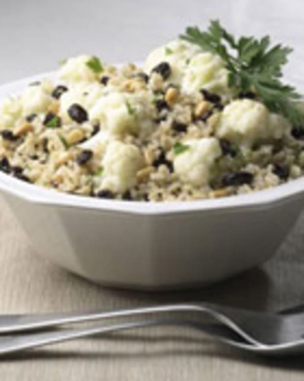 Cauliflower-Raisin Salad