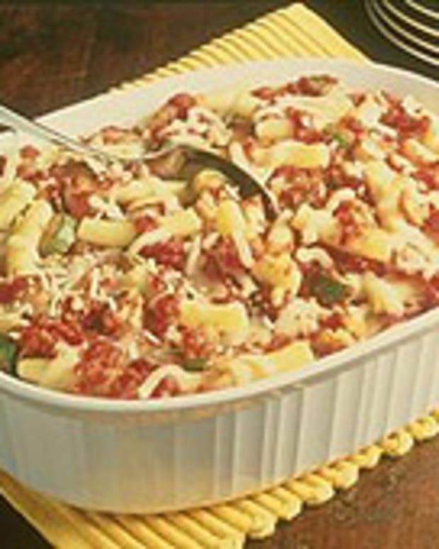 Italian Ziti Bake