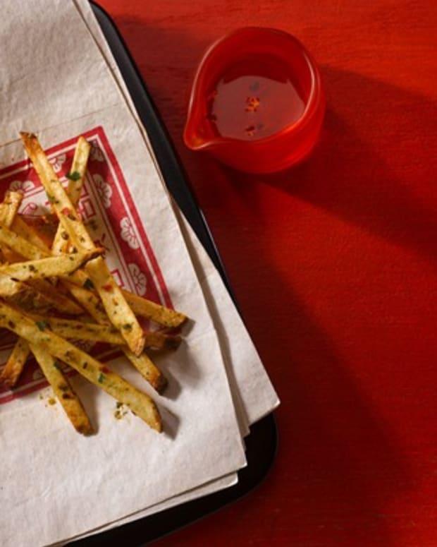 Idaho potato fire fries