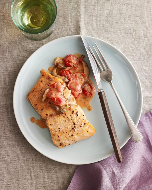 Passover salmon recipe