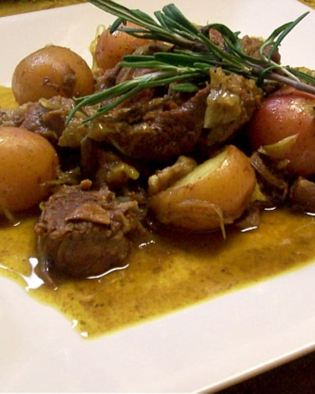 Lamb Stew with Potatoes
