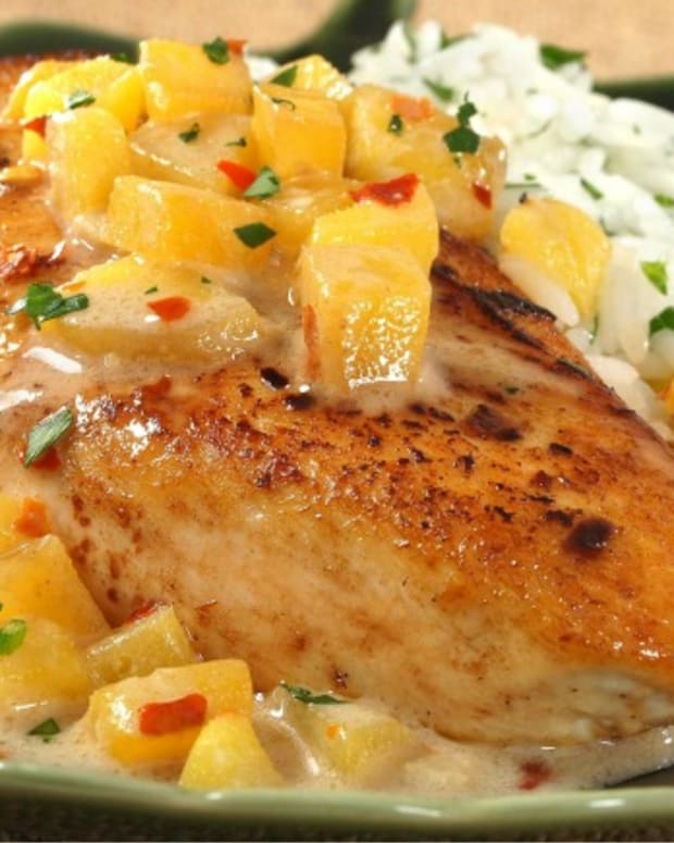 Mango Coconut Chicken