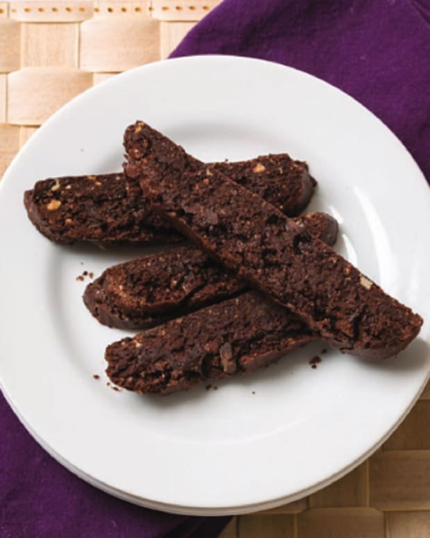 Triple-Chocolate Biscotti