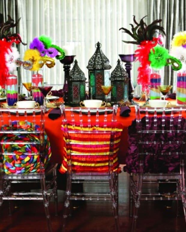 Purim Table