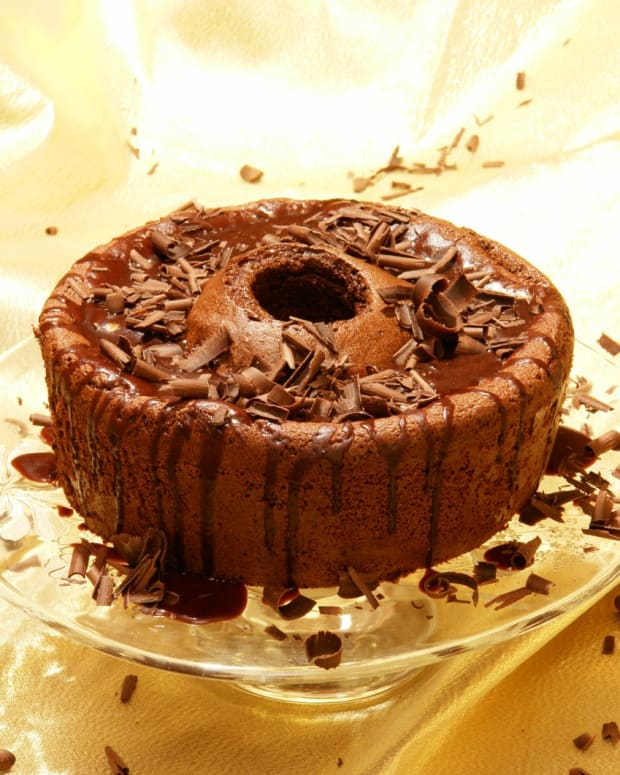 passover chocolate sponge cake