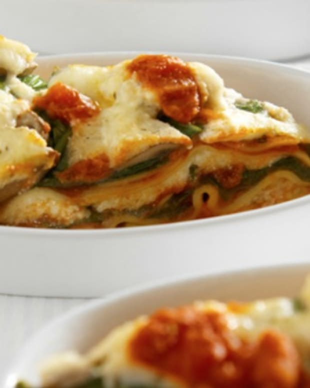 Slow Cooker Fresh Veggie Lasagna