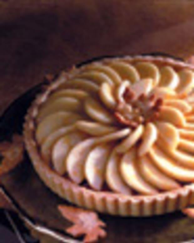 Fresh Anjou Pear Tart