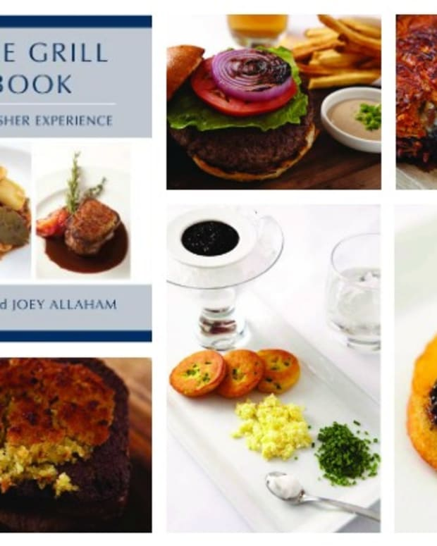 prime grill cookbook collage