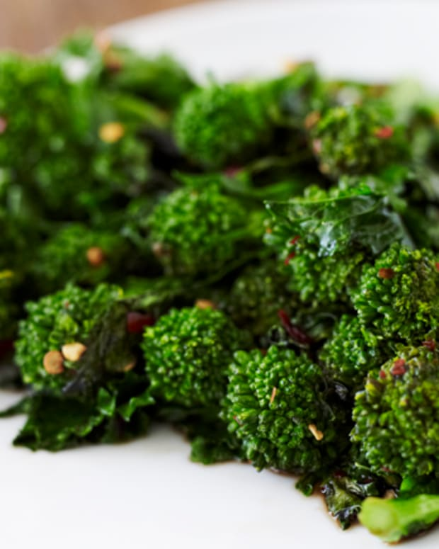 spiced broccoli rabe