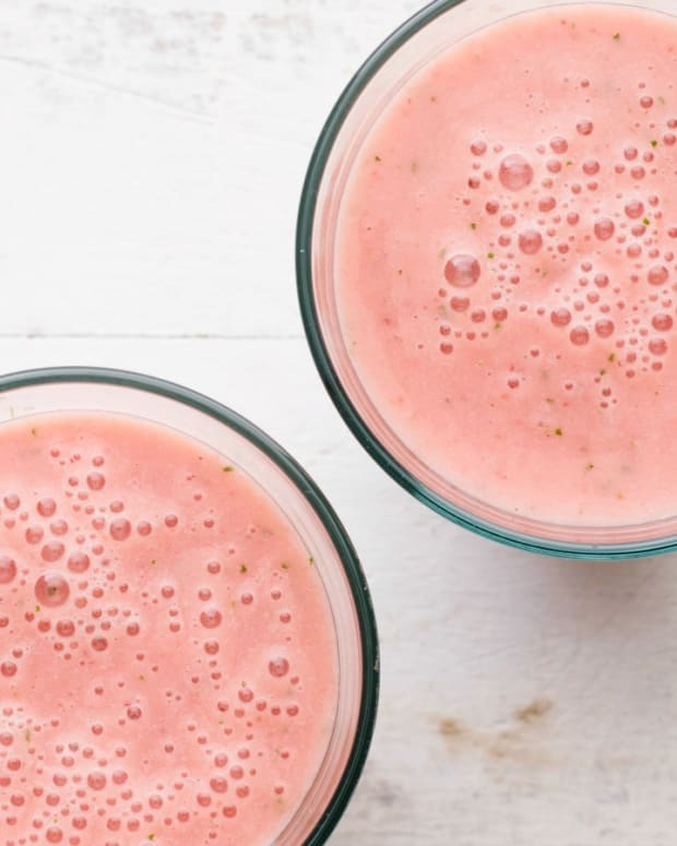 Watermelon Strawberry 200 Calorie Smoothie