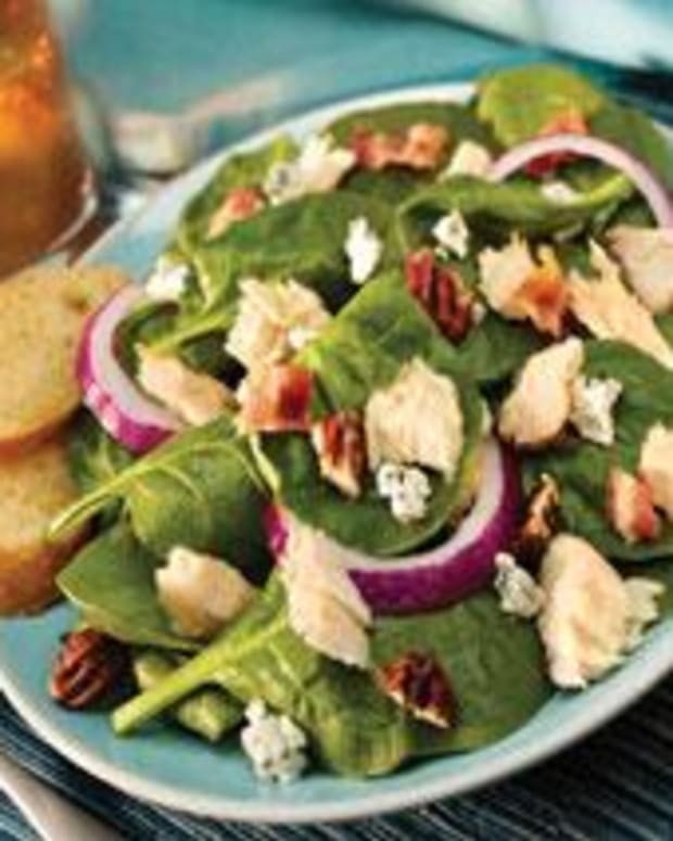 Tuna Spinach Salad