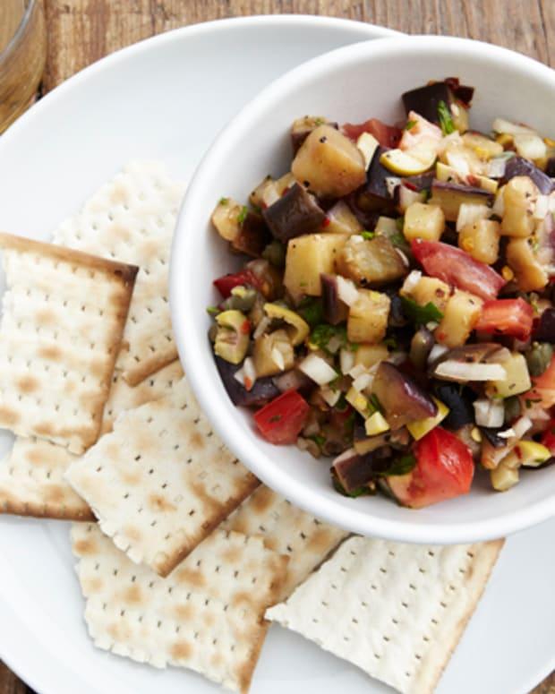 Spicy Eggplant Salsa