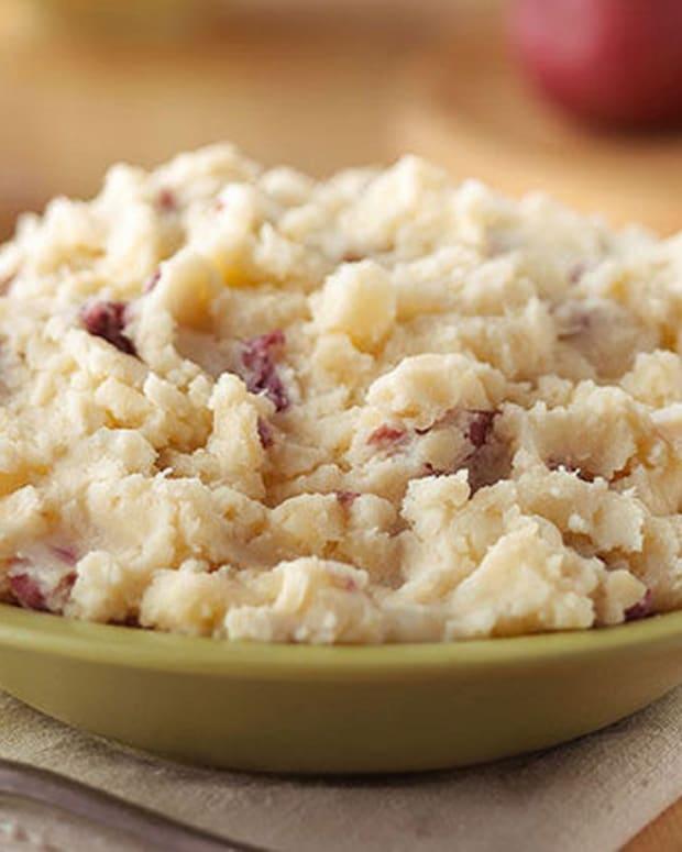 Creamy Parmesan Mashed Potatoes