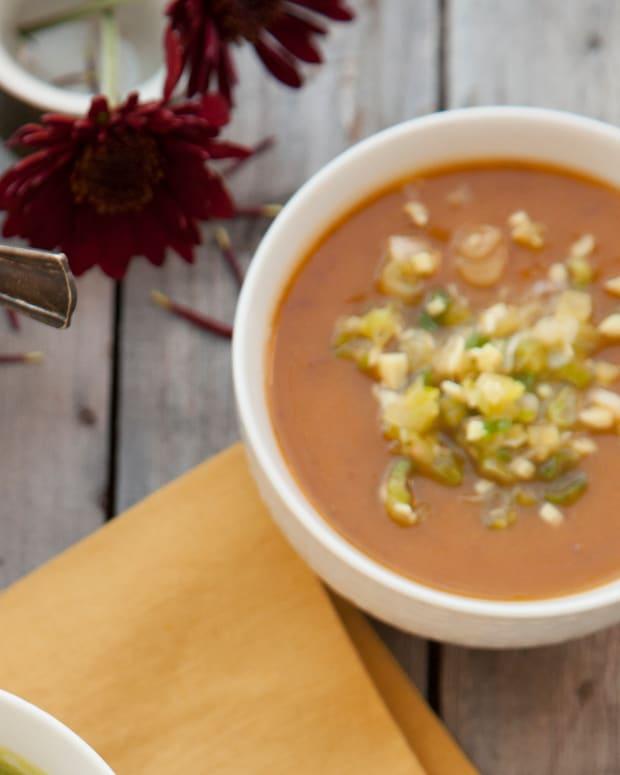 M Cafe's Kabocha Squash & Azuki Bean Soup Pg. 27