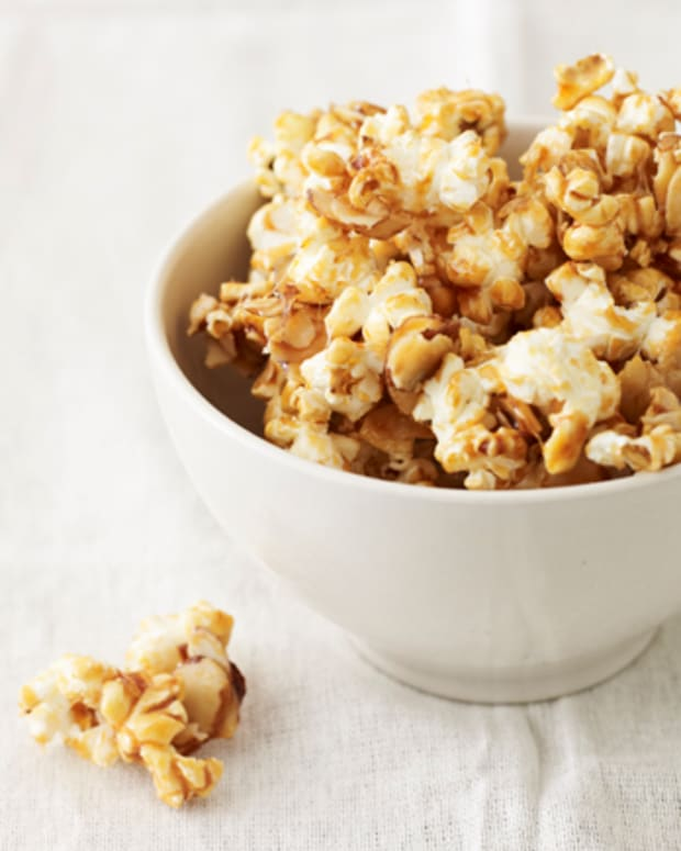 Maple Almond Popcorn