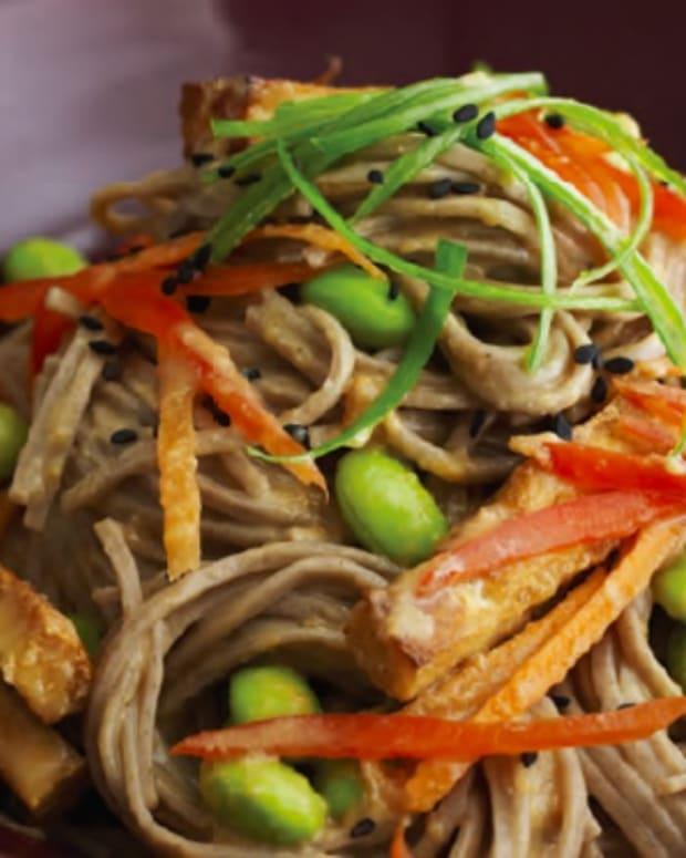 Jamie's Cold Soba Noodles