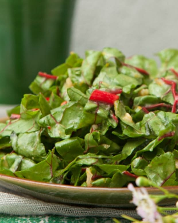 maple chard salad