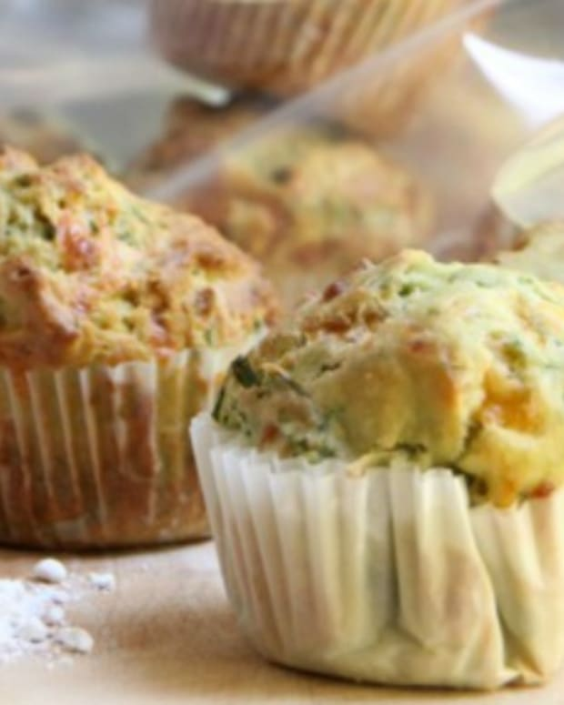 Parsley Chives muffins 3