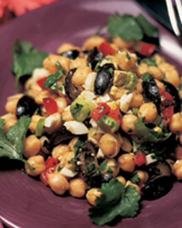 South American Garbonzo Salad