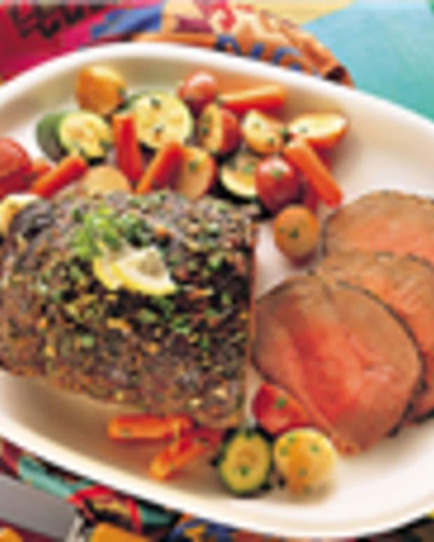 Lemon-Herb Beef Roast