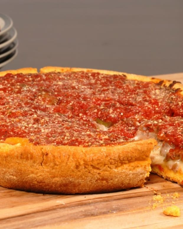 Gluten Free Chicago Deep Dish Pizza