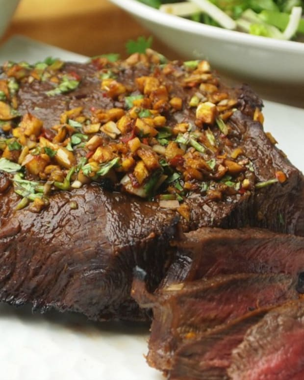 Thai Flavored London Broil