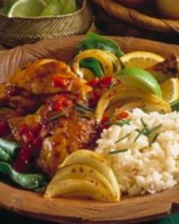 Caribbean Lime Chicken