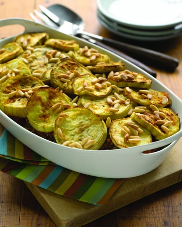 baked eggplant with ground beef