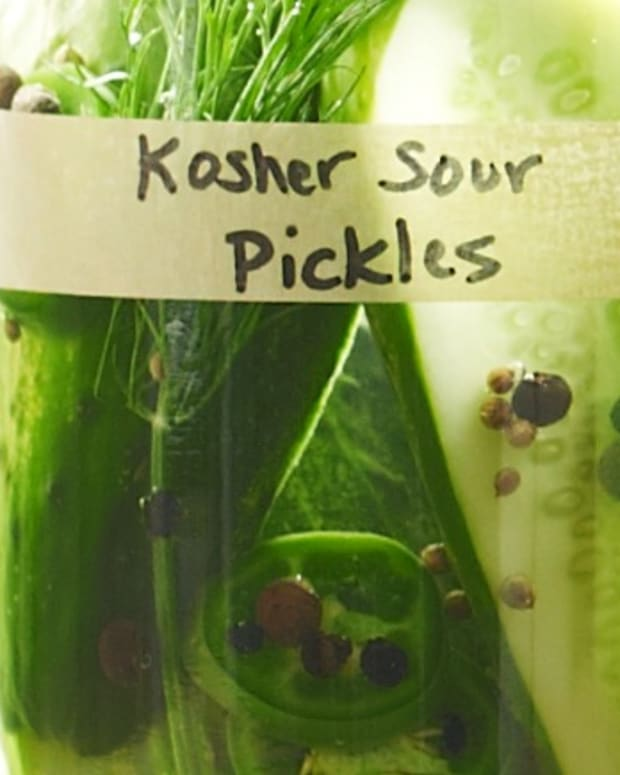 23- Fermented Kosher Sour Pickles