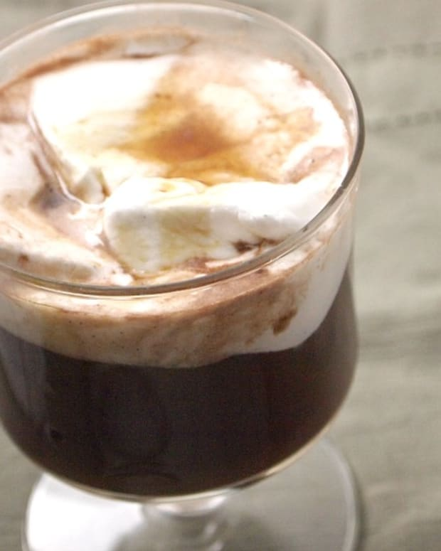 Double Espresso Hot Chocolate