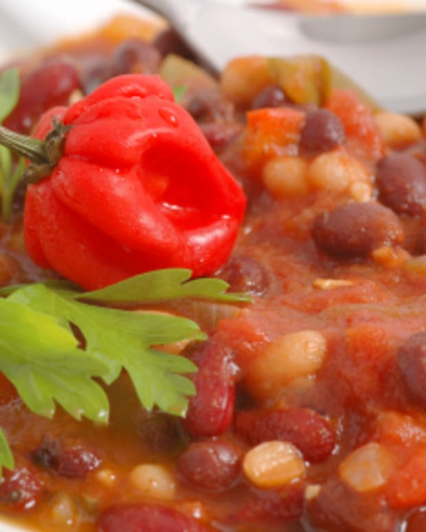 Heart Healthy Vegetarian Chili – Pressure Cooker