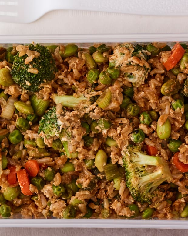 veggie fried rice pack n go lunch