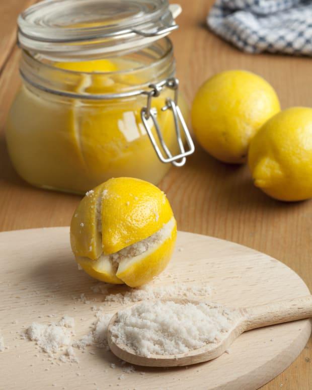 Homemade Preserved Lemons
