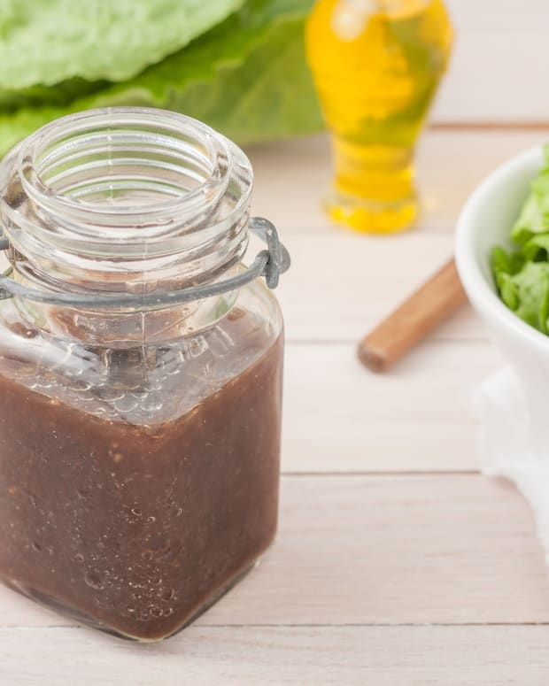 Honey Balsamic Salad Dressing