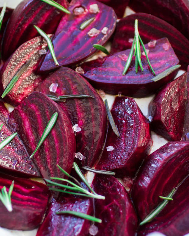 gingered beets