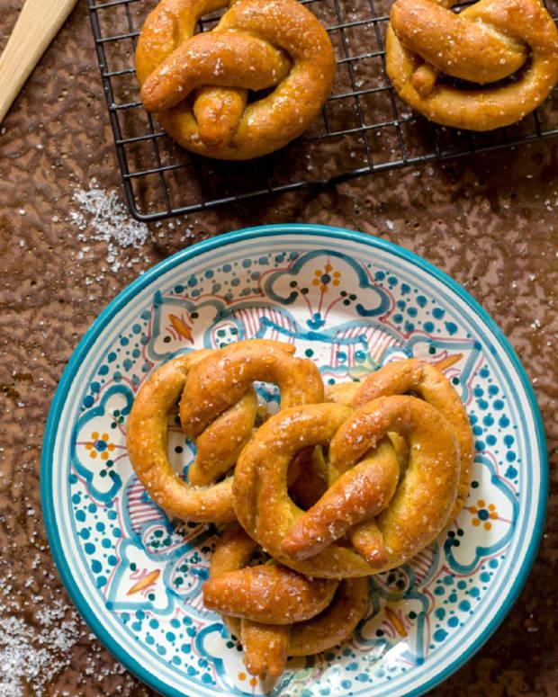 gluten free honey pretzels