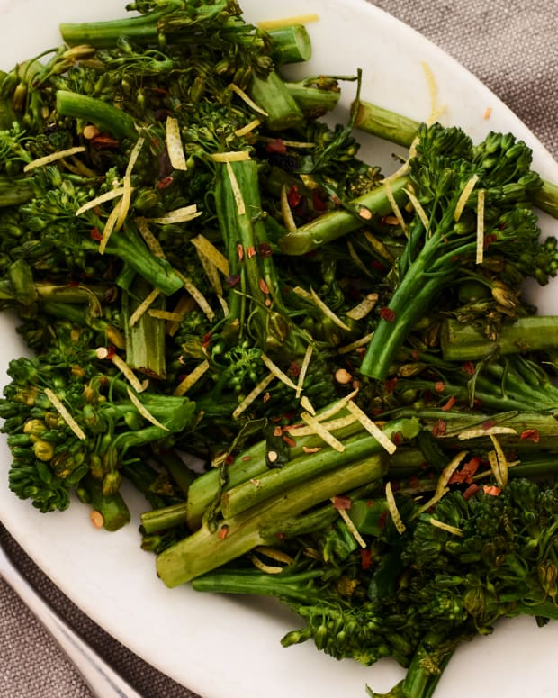 Wilted Broccoli Rabe