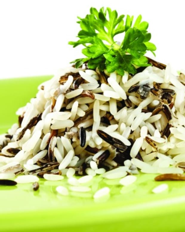 Three-onion Wild rice
