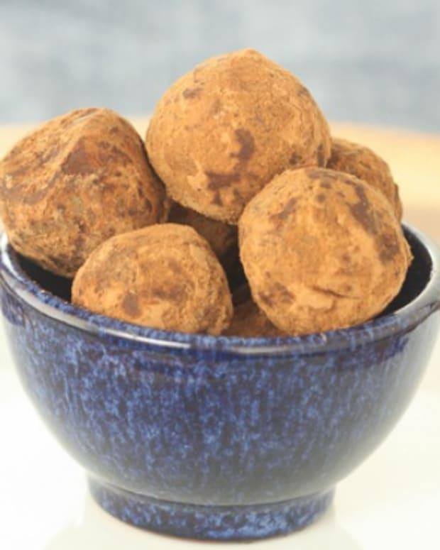 olive oil mandarin truffles