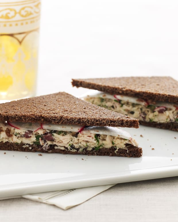 Tuna Tea Sandwiches large