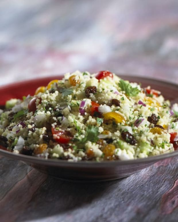 California Raisin Couscous with Vegetables