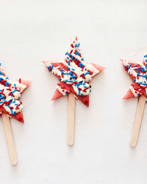 Watermelon Pops for the 4th of July