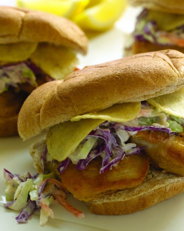 Fish n Chips Sandwich