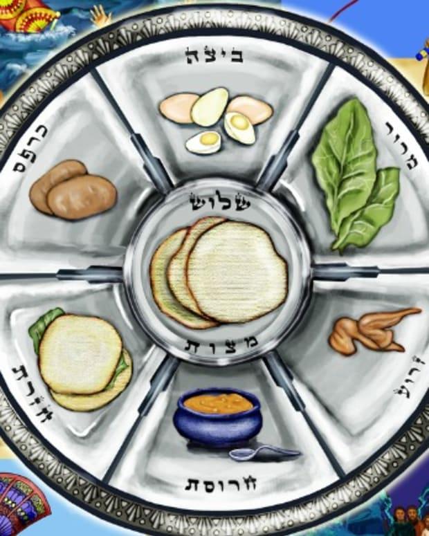 seder plate art