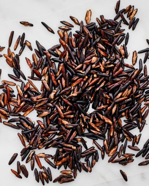 POPPED WILD RICE GARNISH