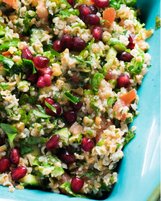 preserved lemon tabbouleh