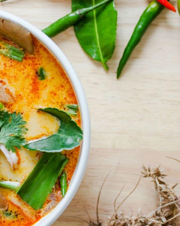 Tom Yum Chicken Soup
