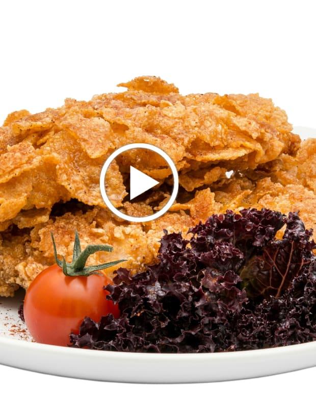 Potato Chip Schnitzel Video