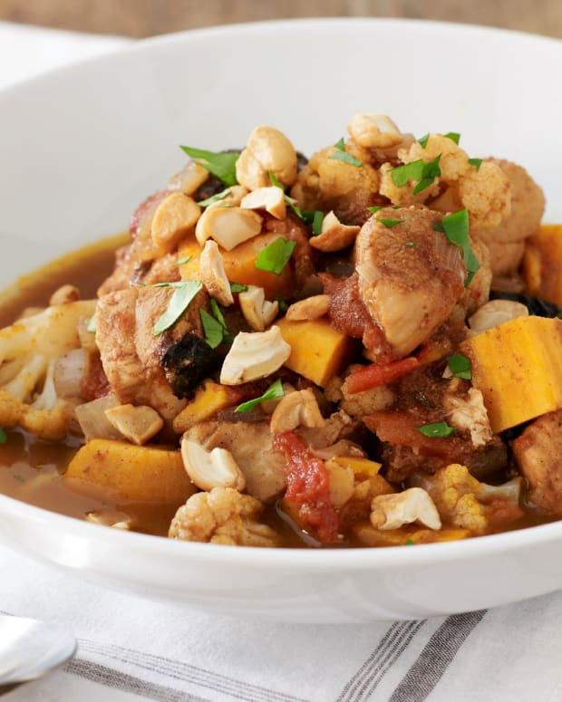 Moroccan Chicken Stew Slow Cooker