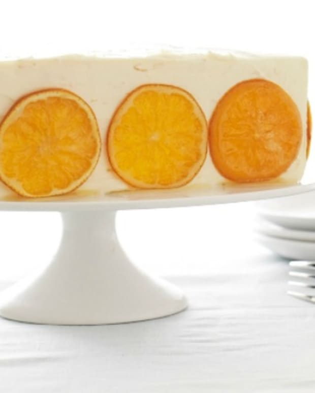 Orange Honey Cake For Rosh Hashannah